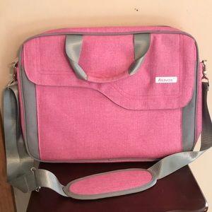 Keniox Pink Computer Bag